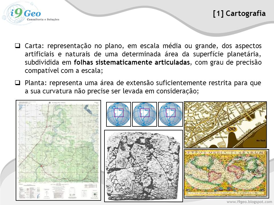 [1] Cartografia